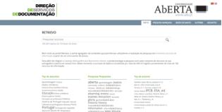 Repositório de informação da Universidade Aberta
